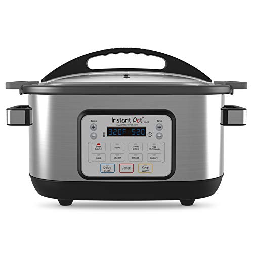 Instant Pot 6 Qt Aura Multi-Use Programmable Multicooker, Silver