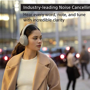 Sony索尼 WH-1000XM4 2020新款蓝牙降噪耳机