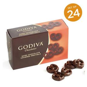 Godiva 歌帝梵 黑巧迷你椒盐脆饼