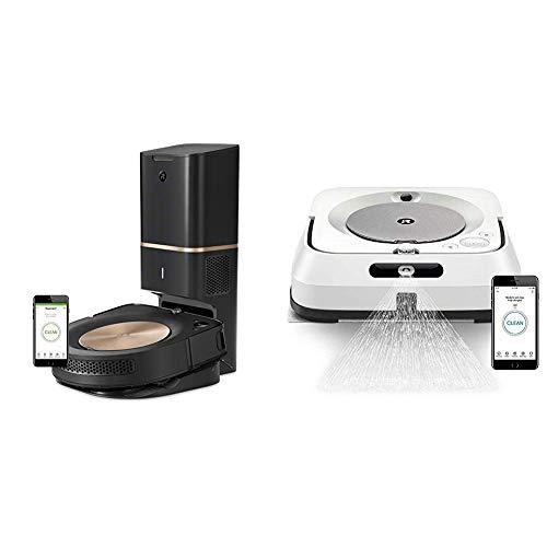 大降!史低价!iRobot Roomba s9+ 智能扫地机器人+喷水拖地机器人组合