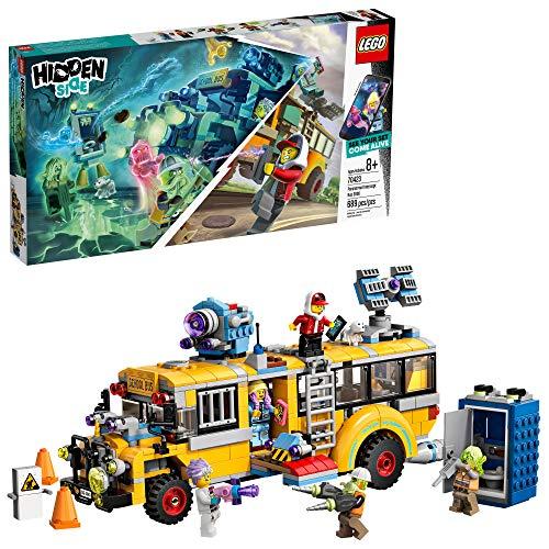 史低价!LEGO乐高 Hidden Side幽灵秘境系列70423 超自然拦截汽车