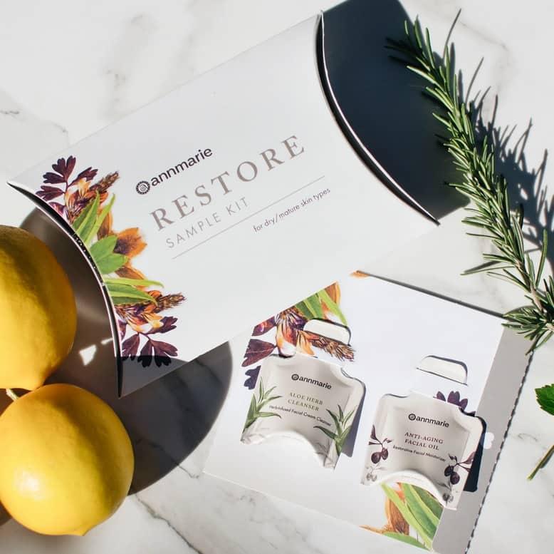 AnnMarie Restore for Dry & Mature Skin (Sample Kit)