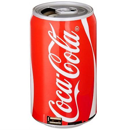 Coca-Cola  可乐罐形状 蓝牙小音箱,带FM收音机功能