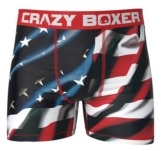 Crazy Boxer Men's Boxers at Zulily