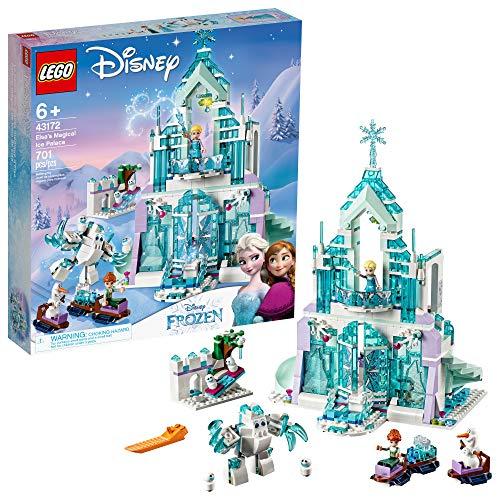史低价!LEGO乐高 Disney Princess迪斯尼公主系列43172 艾莎的魔法冰雪城堡