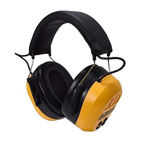DEWALT 保护听力 隔音耳罩,带蓝牙耳机功能