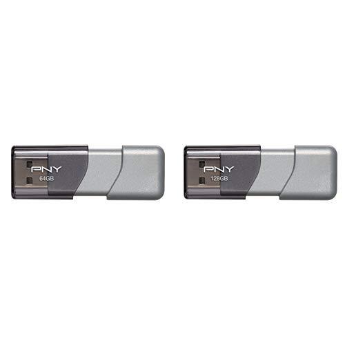 划算!PNY Turbo USB 3.0 128GB 优盘 + 64GB 优盘