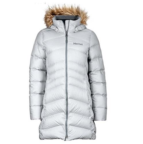 Marmot Montreal Women's Knee-Length Down Puffer Coat, Fill Power 700