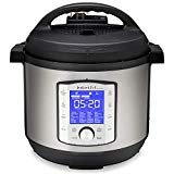 Instant Pot Duo Evo Plus 8Qt Electric Pressure Cooker, (8 QT), Stainless Steel/Black
