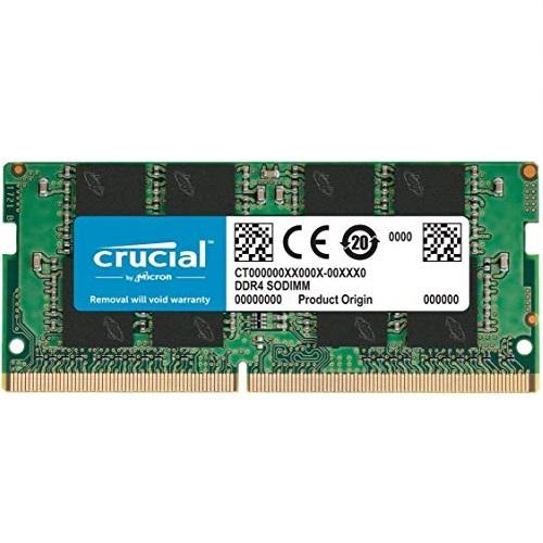 史低价!Crucial英睿达 DDR4 2666笔记本内存,16GB