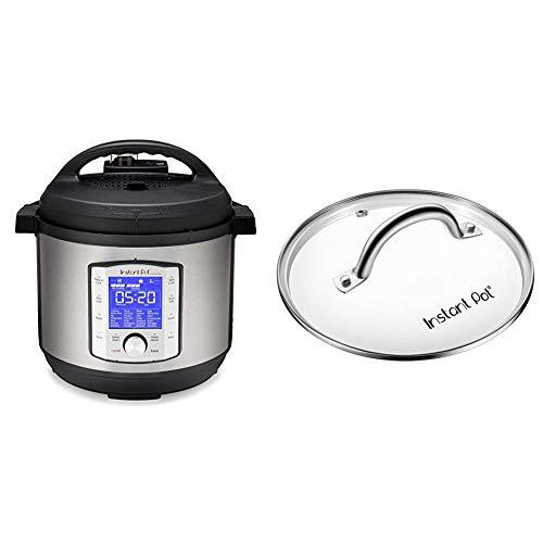 史低价!Instant Pot Duo Evo Plus 升级版多功能电压力锅 + 额外钢化玻璃锅盖,8夸脱