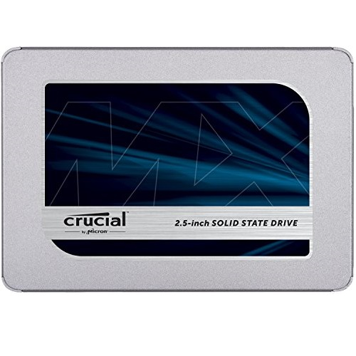 Crucial MX500  SATA 2.5吋固态硬盘,1TB款