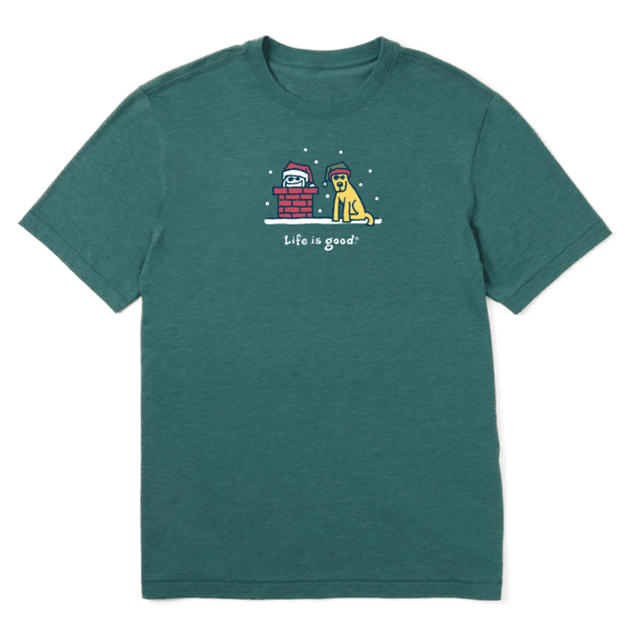 Life is Good Holiday Men's or Women's T-Shirts (Various)