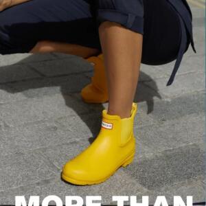Hunter现有精选防水鞋履、服饰等低至5折促销