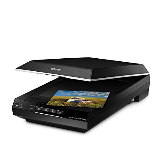 EPSON 爱普生 Perfection V600 彩色扫描仪,自动折扣后仅售