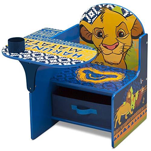 Delta Children 迪士尼儿童木质连桌椅,带收纳盒