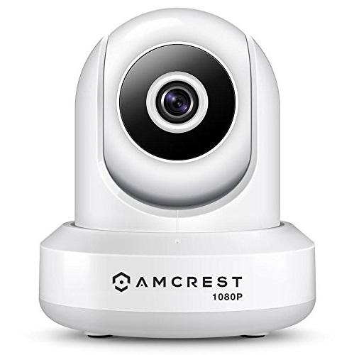史低价!Amcrest ProHD 1080P 无线监控摄像头