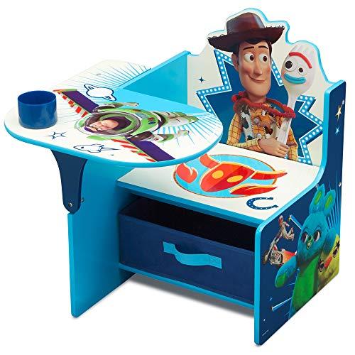 史低价!Delta Children 迪士尼儿童木质连桌椅,带收纳盒