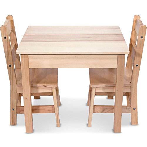 Melissa & Doug 儿童木质桌椅三件套