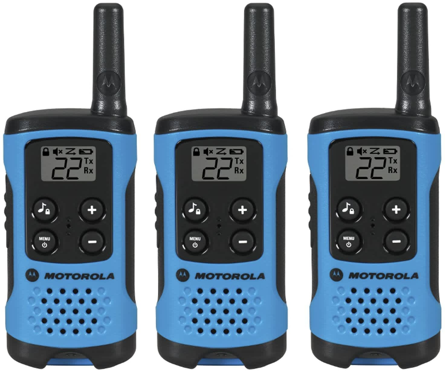 Motorola Talkabout Radio 3-Pack