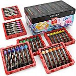 ARTEZA Art Supply Sale: 60-Count Acrylic Paint Set