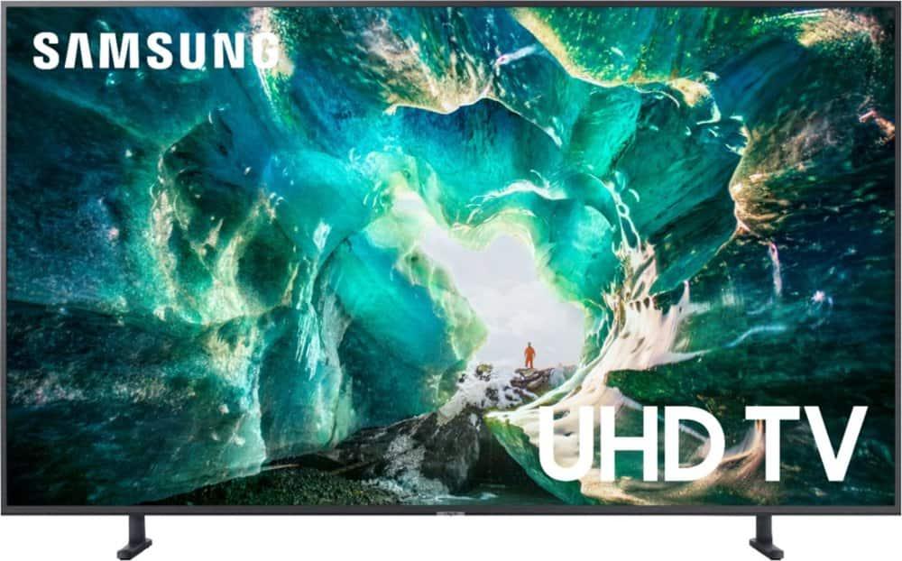 "82"" Samsung UN82RU8000FXZA 4K UHD HDR Smart HDTV"