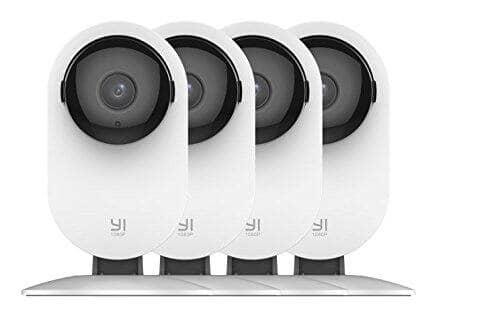 4-Piece YI 1080p Wireless IP Security Cameras w/ Night Vision