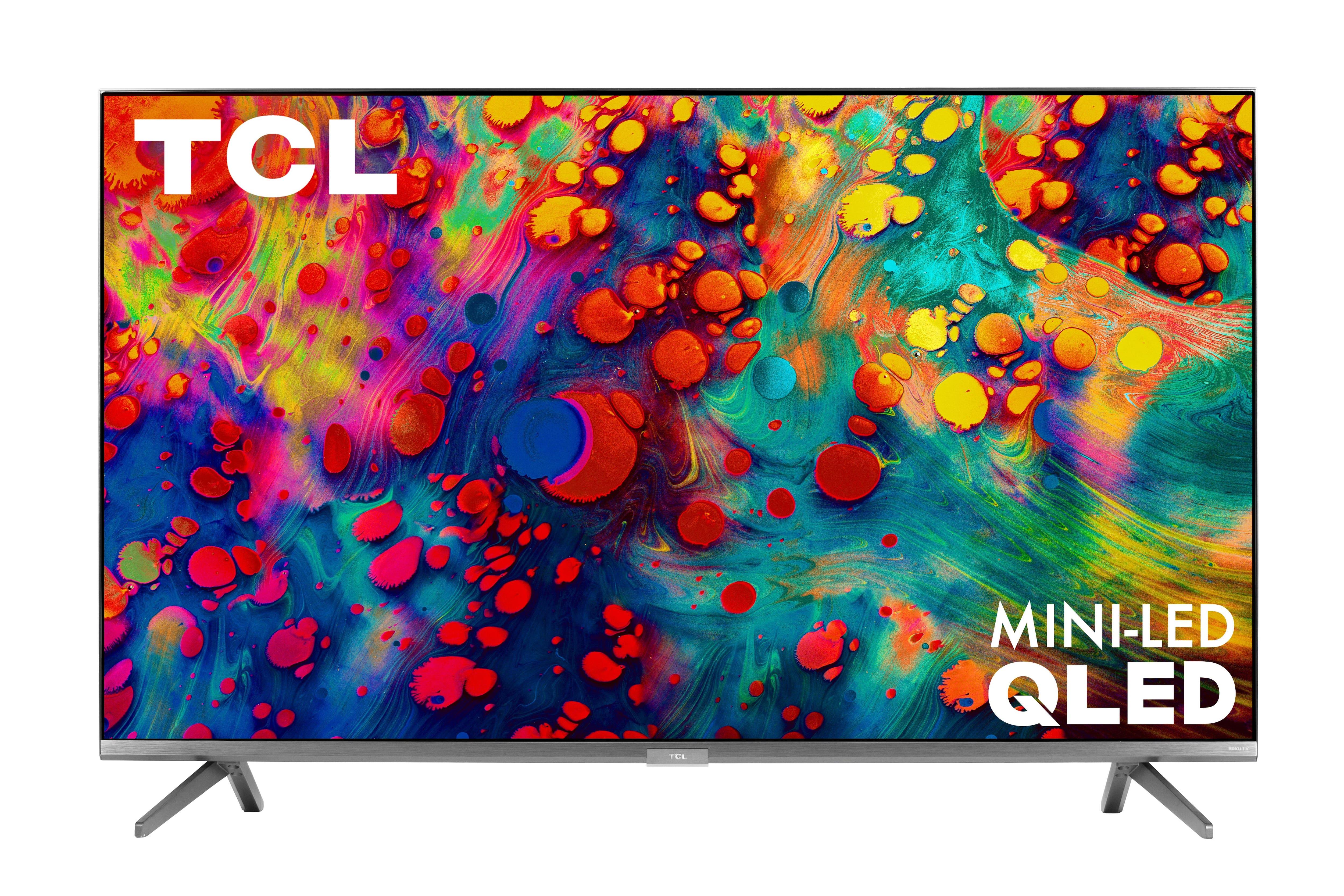 """65"""" TCL 65R635 6-Series 4K UHD HDR Roku Smart QLED HDTV"""
