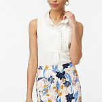 J. Crew Factory -  Extra 70% Off Clearance, 60% Off Everything: Ruffle Top
