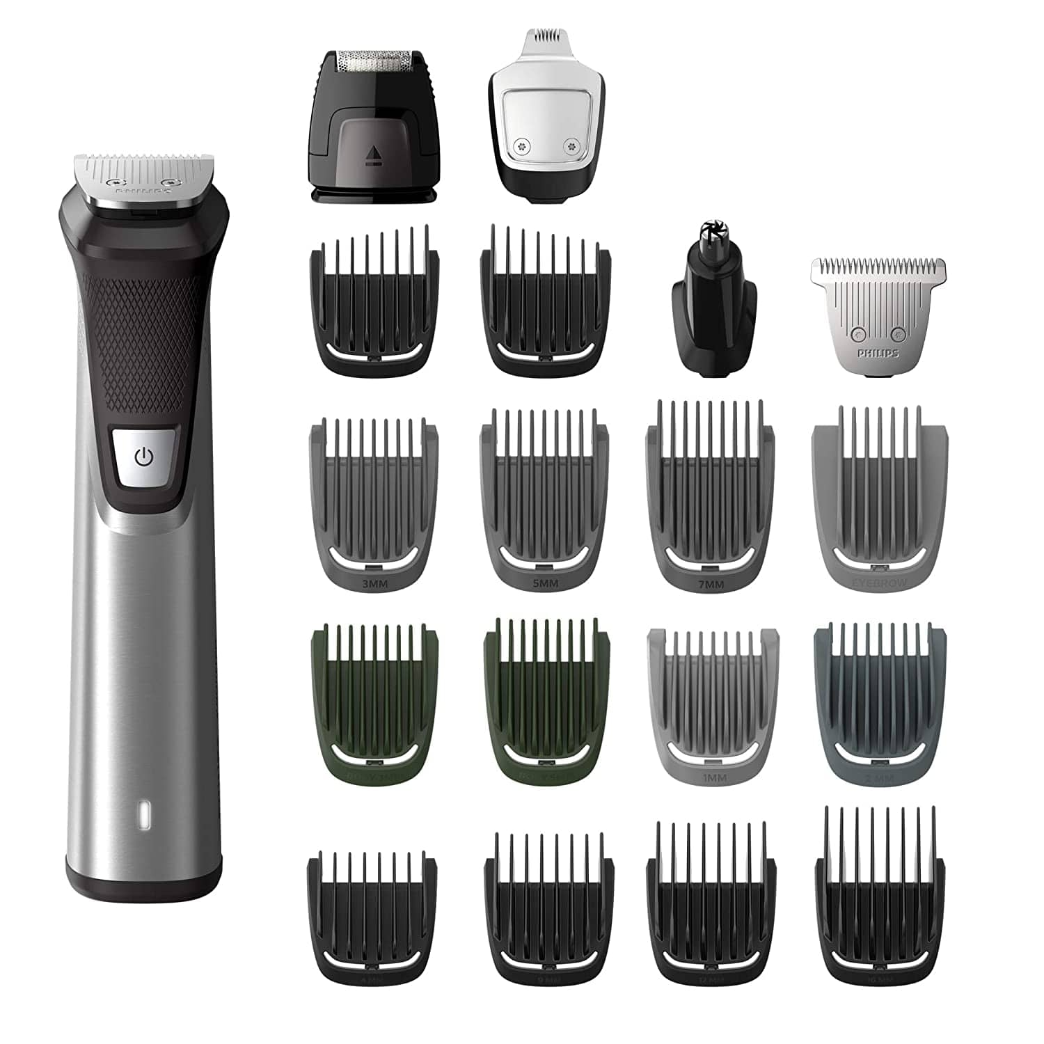 Philips Norelco MG7750/49 Stainless Steel Multigroom Trimmer