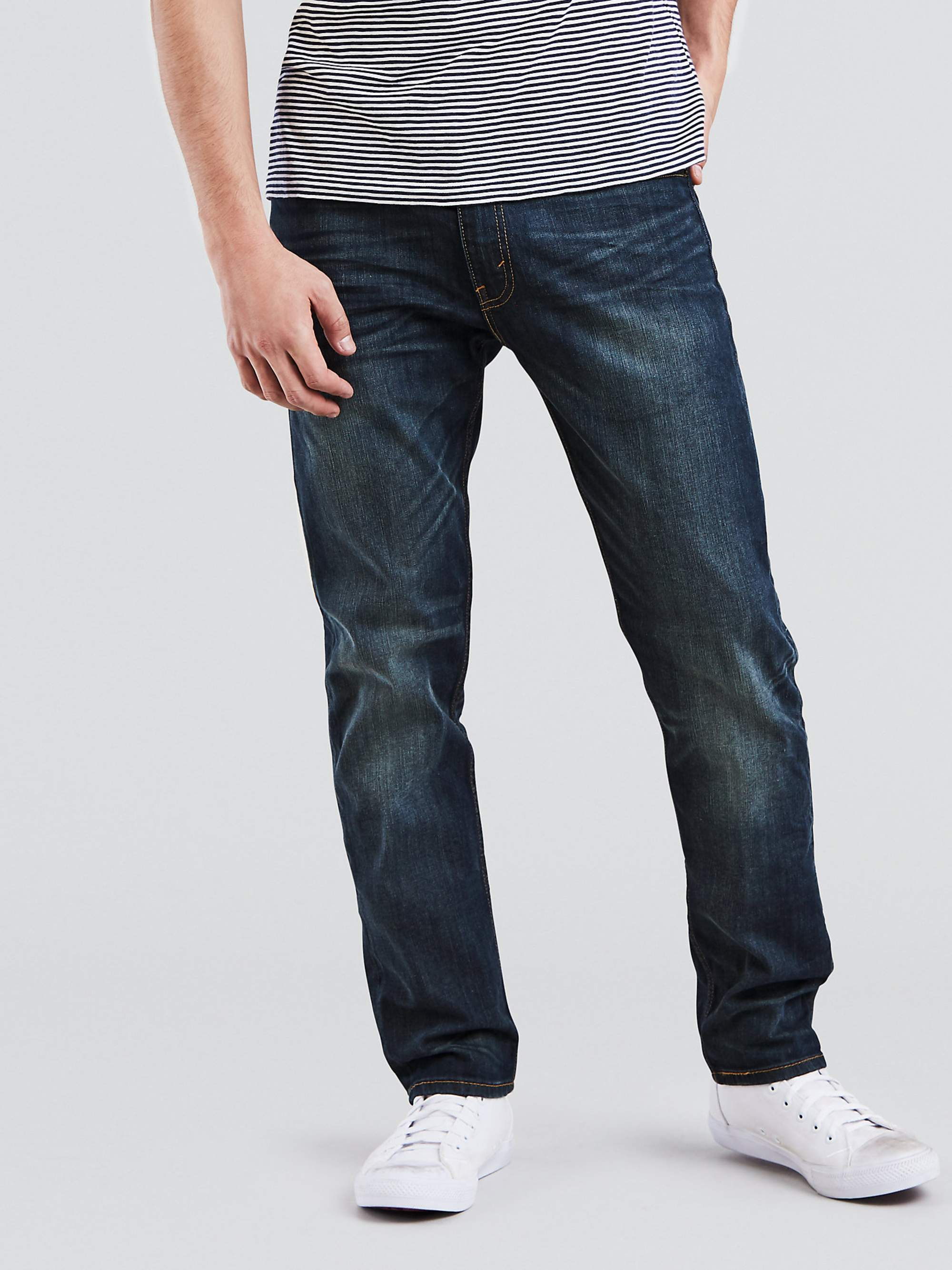 Levi's Men's 502 Regular Tapered Jeans (Rosefinch or Davie Ivy)
