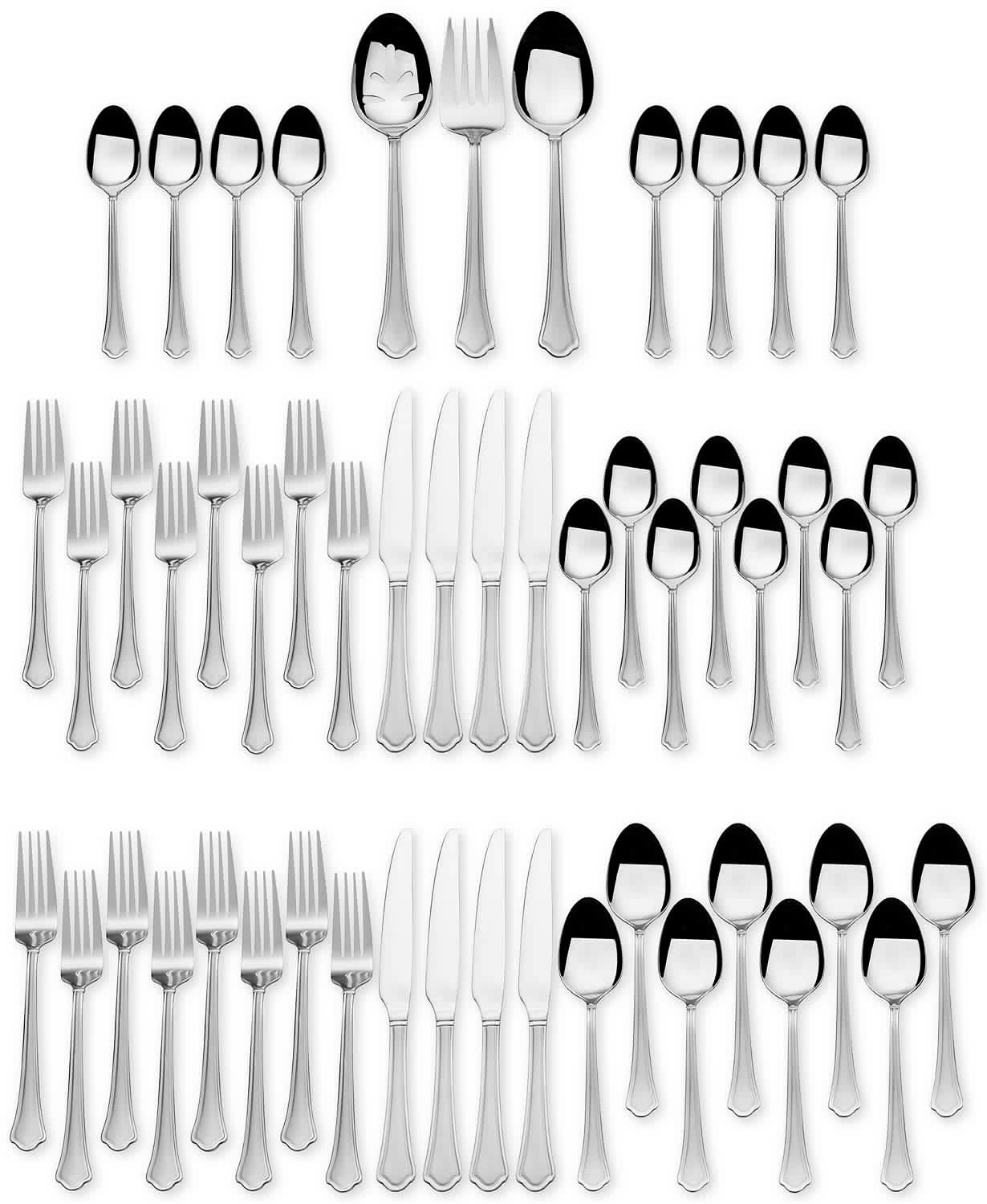 International Silver 51-Piece Flatware Set
