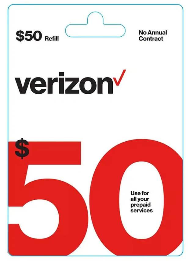 Target: $5 Off select $50+ Prepaid Airtime Cards: T-Mobile Prepaid, Verizon Prepaid & More