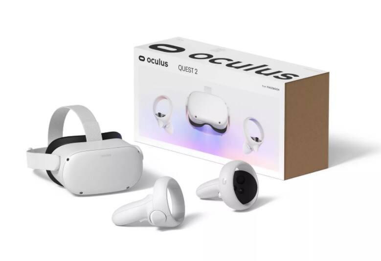 Oculus Quest 2: Advanced AIO Virtual Reality Headset: 256GB $359, 64GB