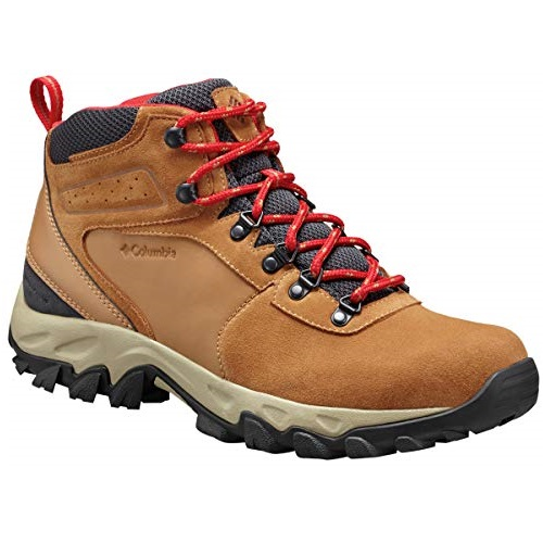 Columbia Men's Newton Ridge Plus Ii Suede Waterproof Boot, Breathable with High-Traction Grip Hiking