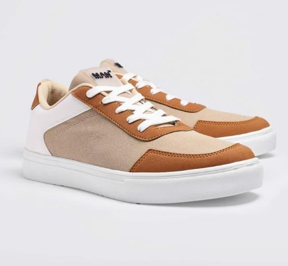 Boohoo Men's Multi Panel Cupsole Sneakers
