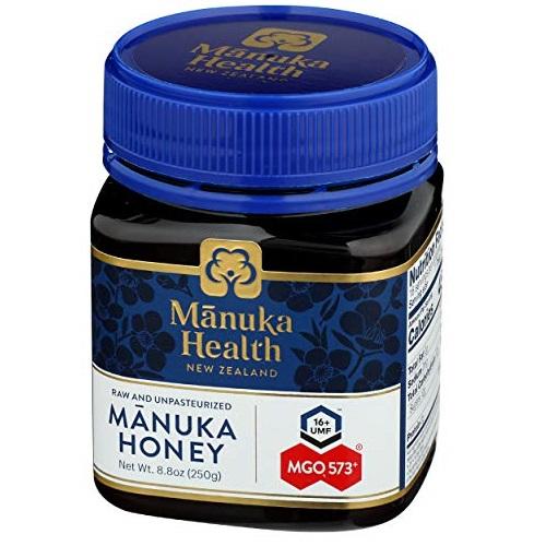 Manuka health 100%新西兰麦卢卡MGO 550+ 蜂蜜,8.8oz,现点击coupon后仅售