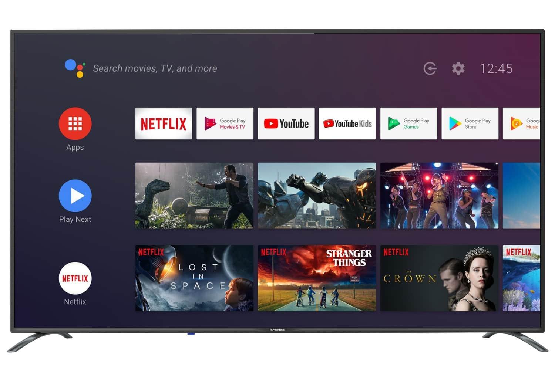 """65"""" Sceptre A658CV-U 4K Ultra HD Android Smart TV w/ Google Assistant"""