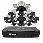 Swann 8 Channel 2TB NVR, 8 x 4K PoE Cameras