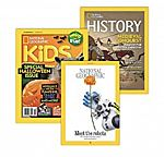 National Geographic Magazine 1-Year Subscriptions (Print or Digital)