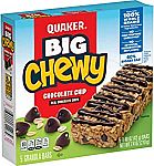 5-Count Quaker Big Chewy Granola Bars
