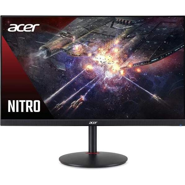 "Acer Nitro XV272U Pbmiiprzx 27"" WQHD (2560 x 1440) IPS Monitor with AMD Radeon FreeSync Technology, 144Hz, 1ms VRB, VESA Certified DisplayHDR400, DCI-P3, Delta E<2, Black"