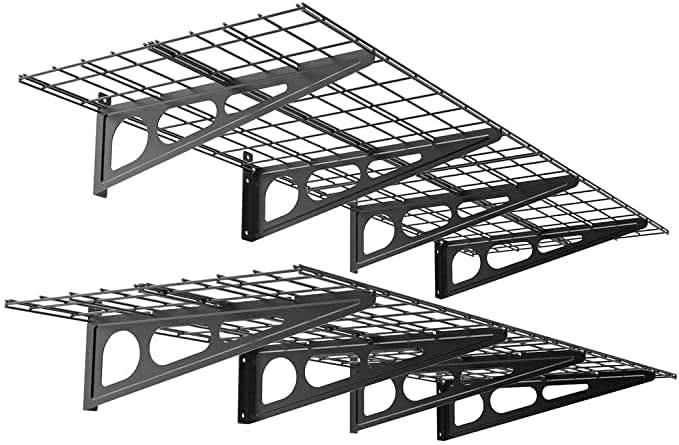 Fleximounts Floating Storage Rack 2-Pack