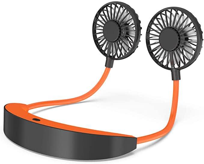 Augymer Neckband Fan