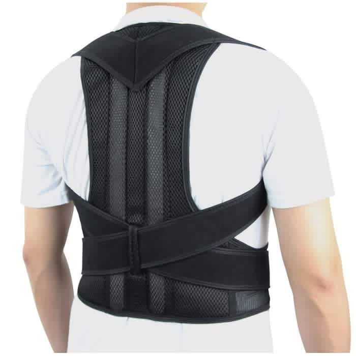 FitGenix Adjustable Back Posture Brace Support