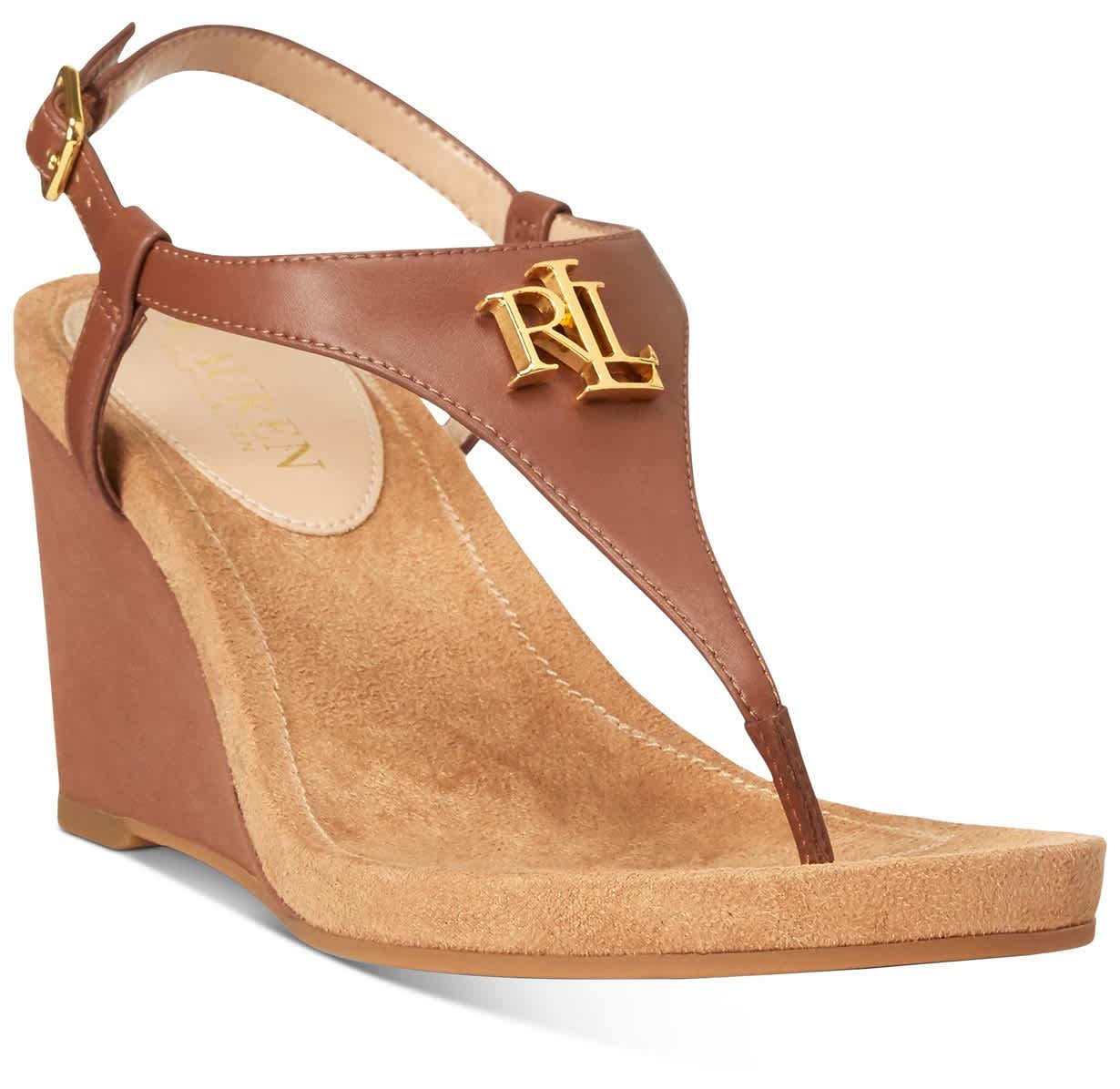 Lauren Ralph Lauren Women's Jeannie Wedge Sandals