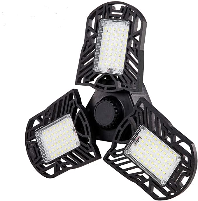 Glandu LED 3-Panel Garage Light