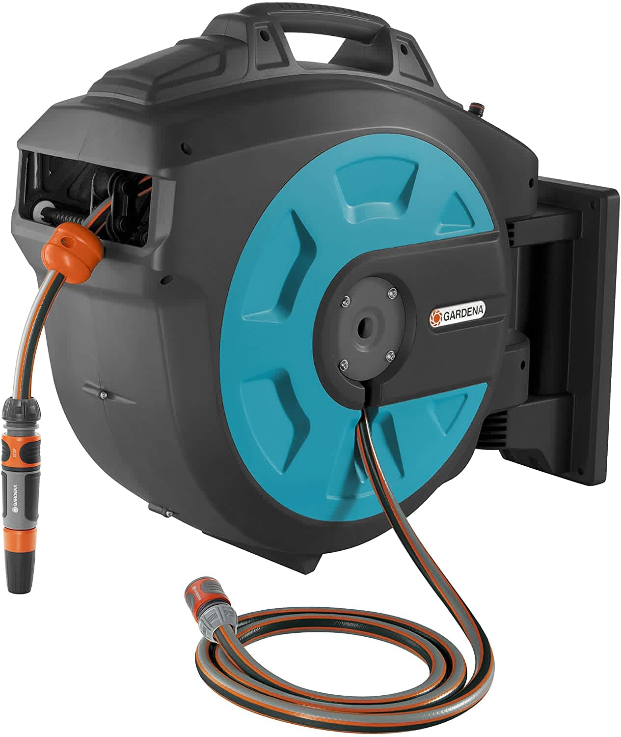Gardena 115ft. Retractable Hose Reel w/ Wall Mount