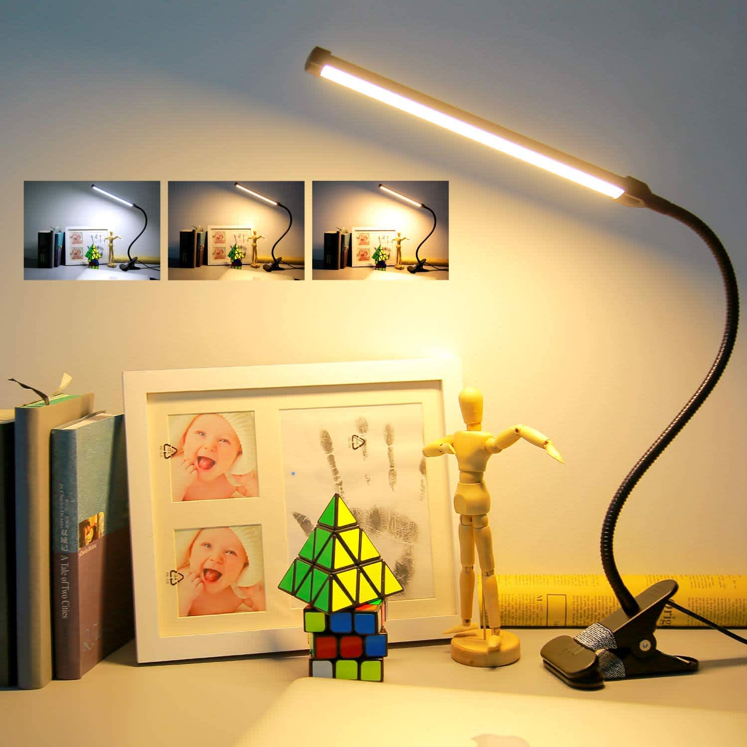 Raniaco LED Clip-On Light