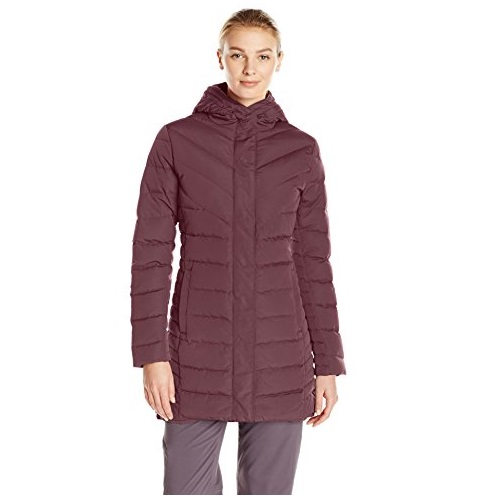 Helly-Hansen Women's Saga Down Parka, Midnight Rose, Large